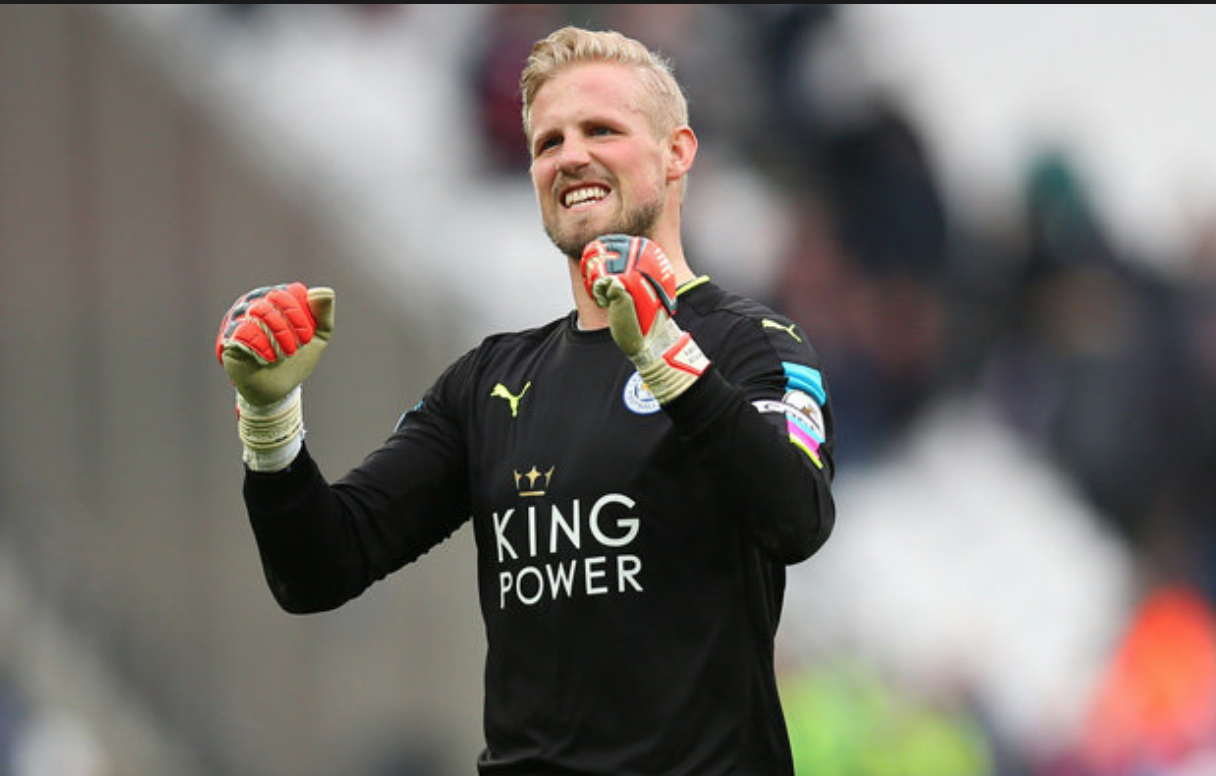 Kasper Schmeichel couverture. Source: The Daily Star