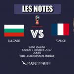 Bulgarie - France