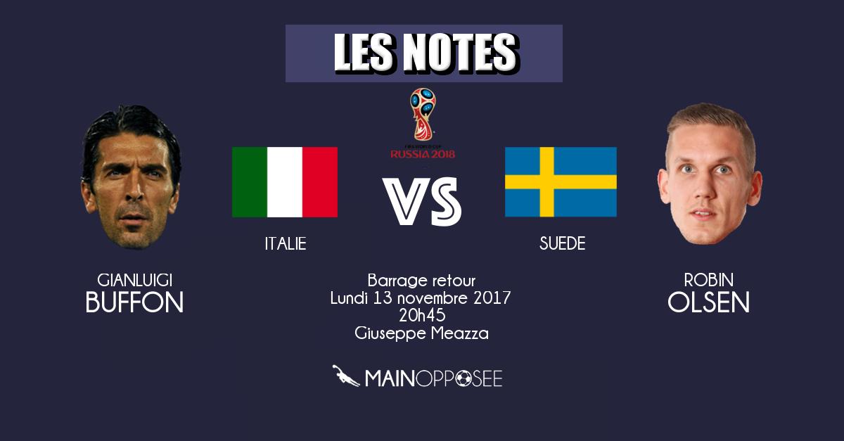italie - suede