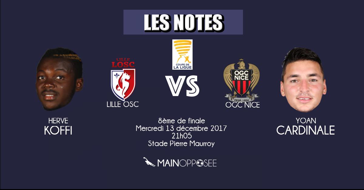 Lille - Nice (coupe de la ligue)