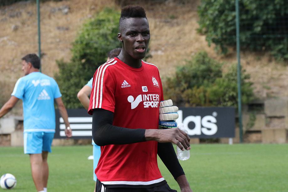 Edouard Mendy lors de sa saison à Marseille. Photo : Lestransferts.com
