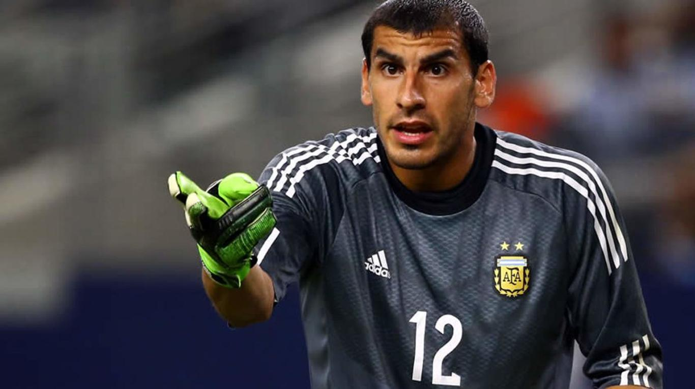 Nahuel Guzmán gardien de but Argentine