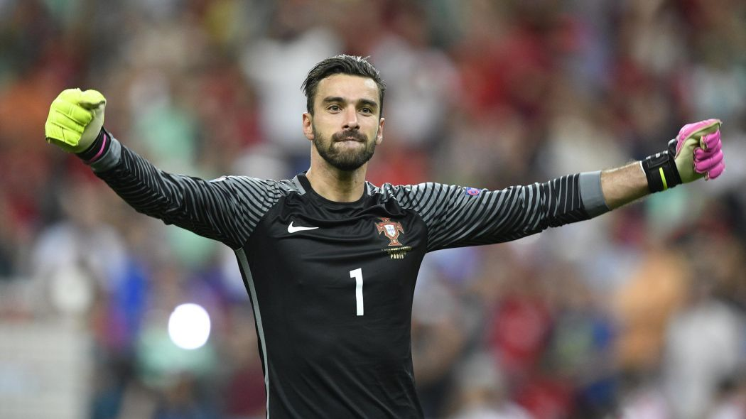 Rui Patricio gardien de but Portugal