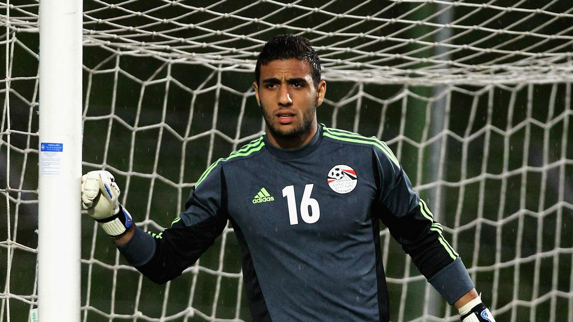 Ahmed El-Shenawy avec le maillot des Pharaons Source : Al Araby