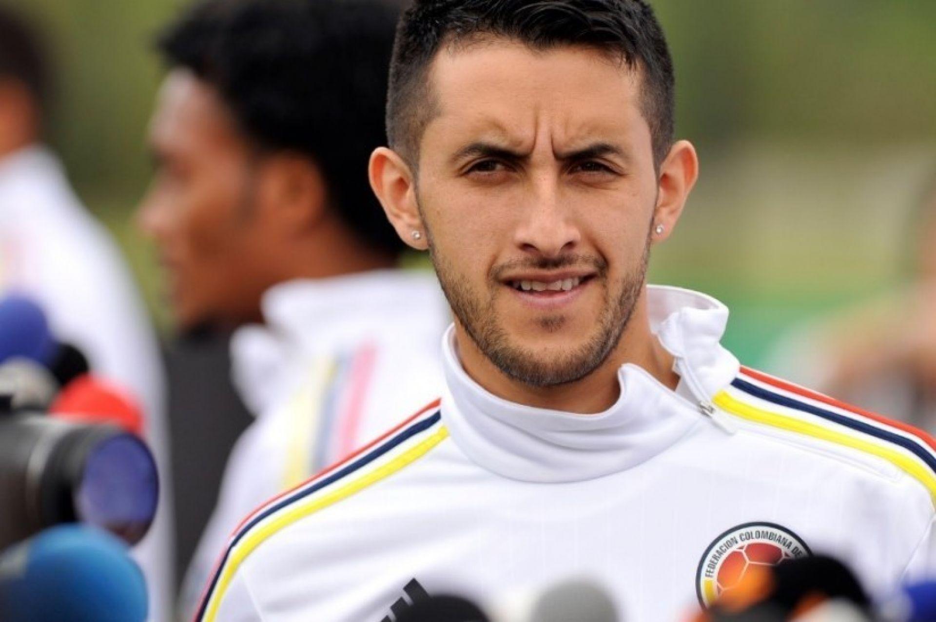 Camilo Vargas avec la sélection colombienne Source : HSB Noticias
