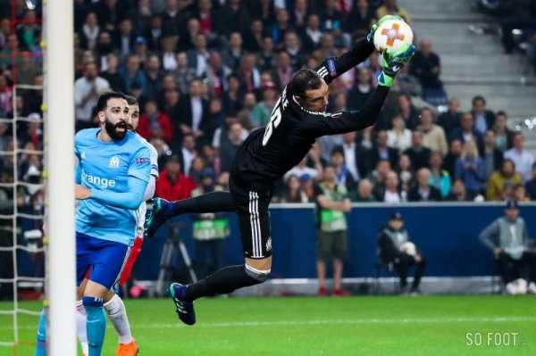 Face à Salzbourg, Yohann Pelé a deployé ses ailes pour emmener l'OM en finale de l'Europa League - source : So Foot