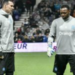 Yohann Pelé, Steve Mandanda, gardiens de but de l'Olympique de Marseille