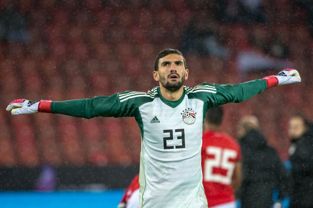 Mohamed Awad pour sa première sélection lors d'Egypte-Grèce Source : Getty Images