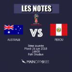 Australie-Pérou
