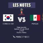 Corée-Mexique