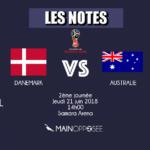 Danemark-Australie