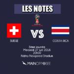 Suisse-Costa Rica