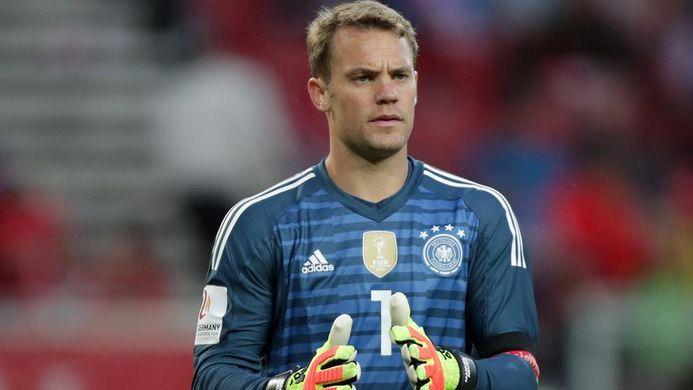 Manuel Neuer gardien de but Allemagne