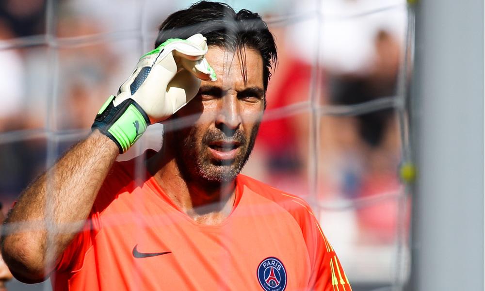 Buffon PSG Caen Ligue 1 Gardien