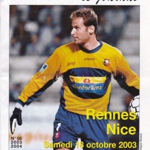 Petr Cech sous les couleurs du Stade Rennais - Source : Stade Rennais Online