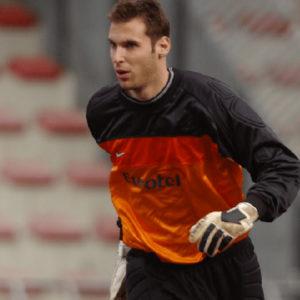 Petr Cech, alors gardien du Sparta Prague - Source : 24smi.org