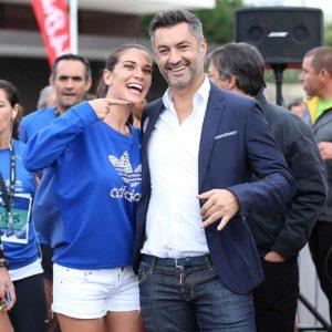 Vítor Baía et son épouse - photo : movenoticias.com