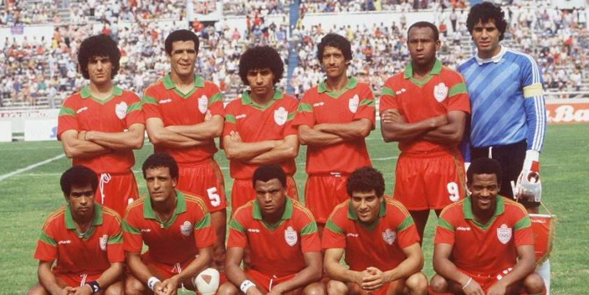 Capitaine du Maroc à la Coupe du Monde 1986, Zaki va se révéler aux yeux du monde (source : Telquel)