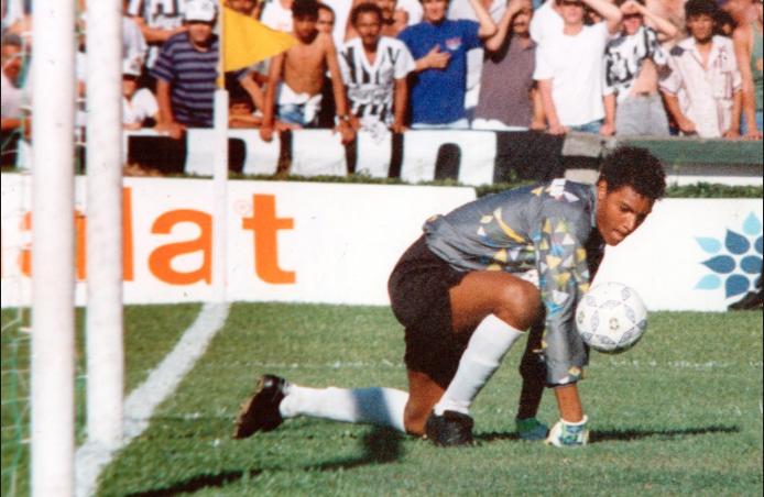Dida lors de la Coupe du Monde des moins de 20 ans en 1993 (source image : Acervo/Gazeta press)