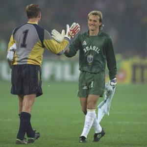 Coupe du monde 90, époque nuque longue - photo : Allsport