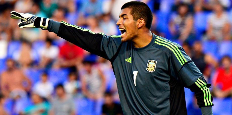 Benítez a gardé les buts de la sélection argentine en U20 - source : Nice-matin.com