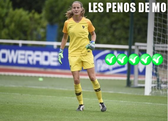 Penos de MO - Mylène Chavas - Gardien de but - Football