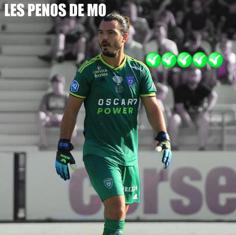 Les pénos de MO - Anthony Cherif Martin - SC Bastia