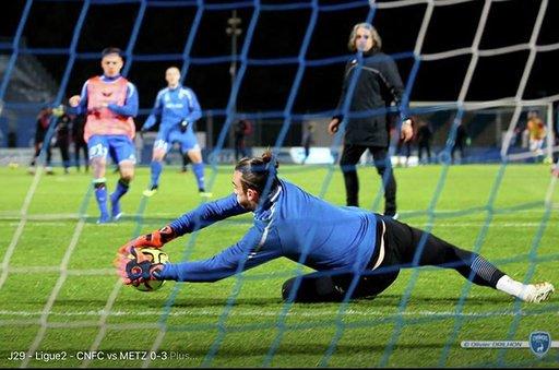 Florent Maddaloni - Gardien de but - football - entrainement