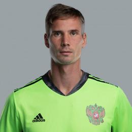 Anton Shunin Russie Gardien de but Euro 2020