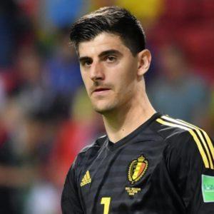 Courtois gardien de but Belgique euro 2021