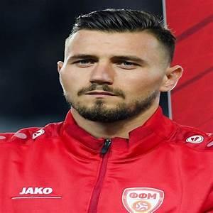 Stole Dimitrievski gardien de but Euro 2020 Euro 2021 Macédoine du Nord