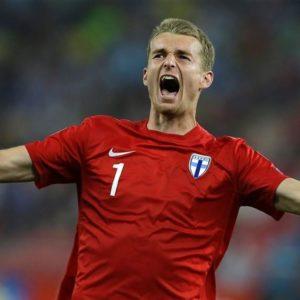 Lukas Hradecky Finlande gardien de but euro 2021