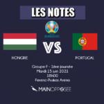 HONGRIE-PORTUGAL