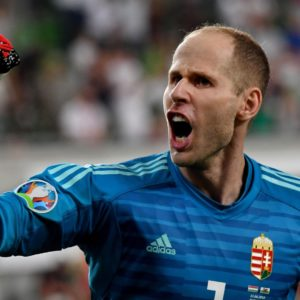 Peter Gulacsi Euro 2020 Euro 2021 Gardien de but Hongrie
