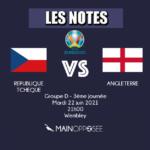 REPUBLIQUE TCHEQUE - ANGLETERRE