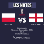 Pologne Angleterre